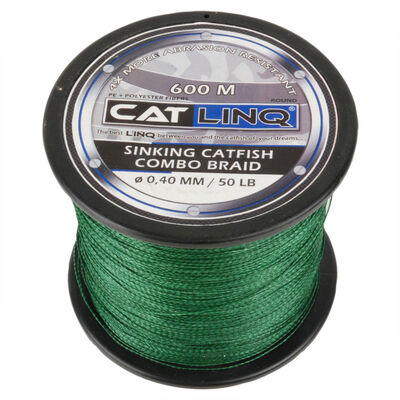 Tresse silure cat linq sinking catfish combo braid 600m - Tresses | Pacific Pêche