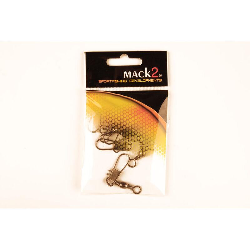 Émerillon baril à agrafe carnassier x-line (x10) - Emerillons | Pacific Pêche