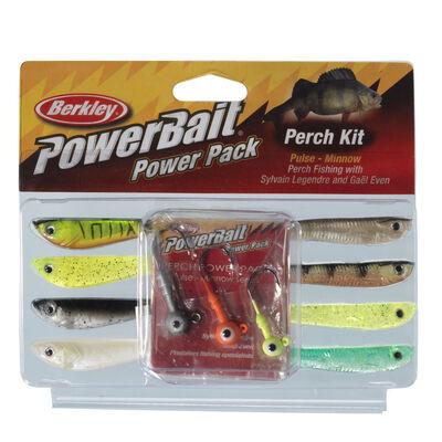 Leurre souple shad carnassier berkley powerbait perch pulse pro pack - Leurres shads | Pacific Pêche