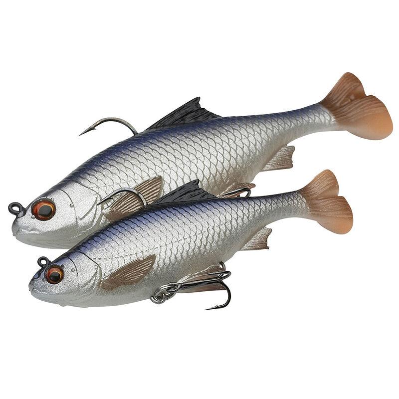 Leurre souple shad carnassier savage gear 3d pulse tail roach 10cm 17,5g (x2) - Shads | Pacific Pêche