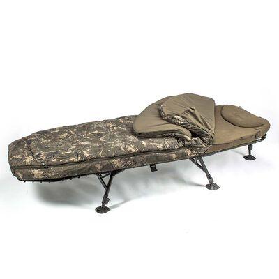 Bedchair avec duvet nash mf60 indulgence 5 season ss3 - Bedchairs | Pacific Pêche