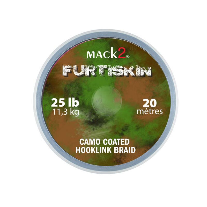 Tresse à bas de ligne carpe mack2 furtiskin camo coated hooklink braid 20m - Tresse BDL | Pacific Pêche