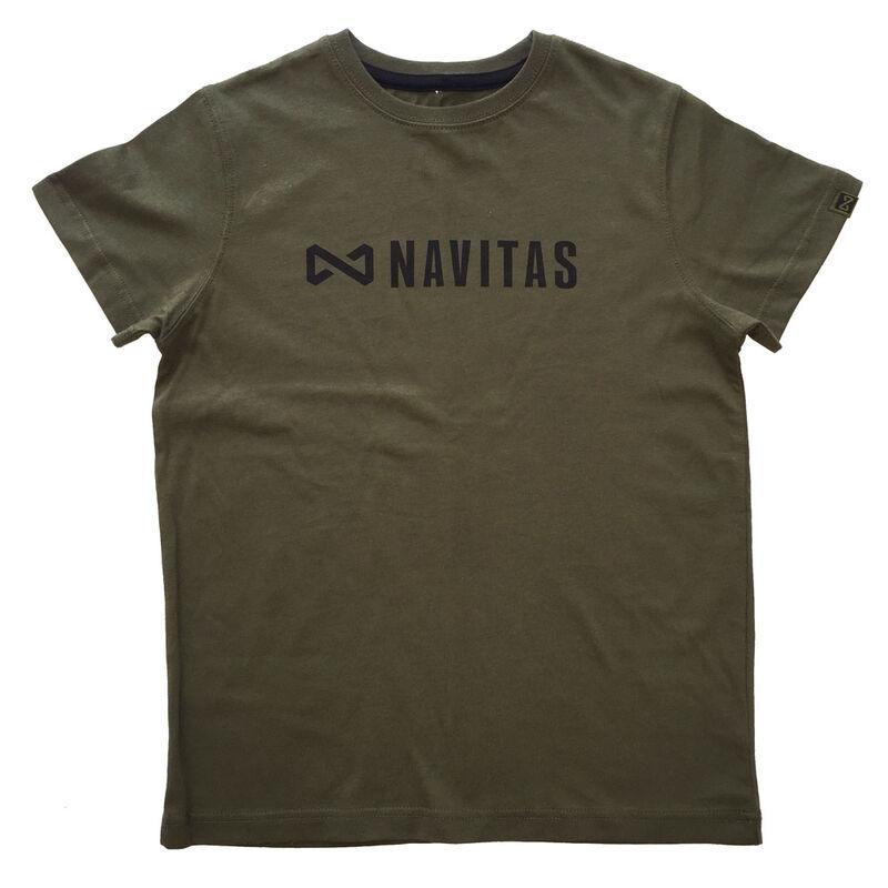 T-shirt enfant navitas core kids green (vert) - Tee-shirts | Pacific Pêche
