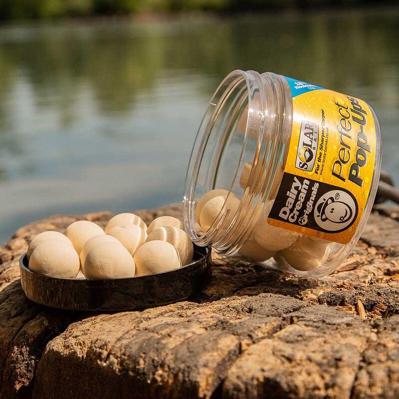 Bouillettes flottantes carpe solar dairy cream - Flottantes | Pacific Pêche