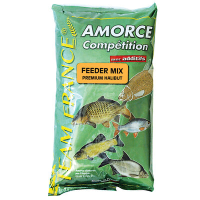 Method mix coup team france feeder mix premium halibut 1kg - Amorces | Pacific Pêche