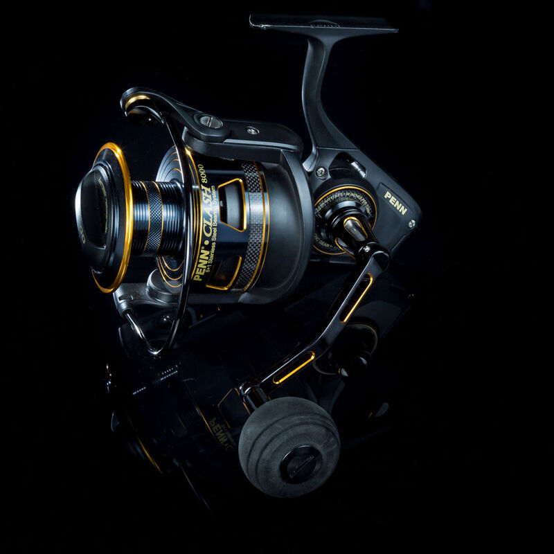 Moulinet penn clash 4000 spn - Tambour Fixe | Pacific Pêche