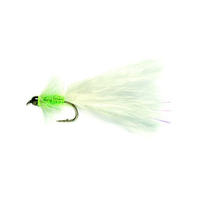 Mouche streamer silverstone tad blanc h10 (x3) - Streamers | Pacific Pêche
