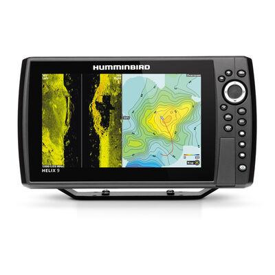 Combine sondeur gps humminbird helix 9g3n gps chirp msi+ sonde ta+t° 140/240khz - Sondeurs/Gps   Pacific Pêche