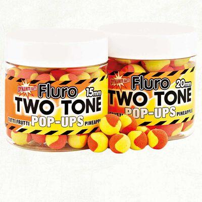 Bouillettes flottantes dynamite baits fluro two tone tutti frutti + pinapple - Flottantes | Pacific Pêche