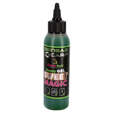 Attractant sensas crazy bait ready gel sweet magic 115ml - Additifs | Pacific Pêche