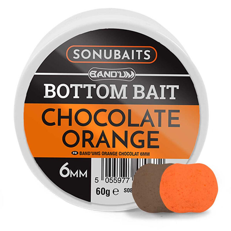 Pellets d'eschage sonubaits bottom bait chocolat / orange - Eschage   Pacific Pêche