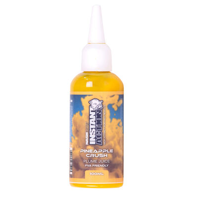 Booster carpe nashbait instant action plume juice pineapple crush 100ml - Boosters / dips | Pacific Pêche