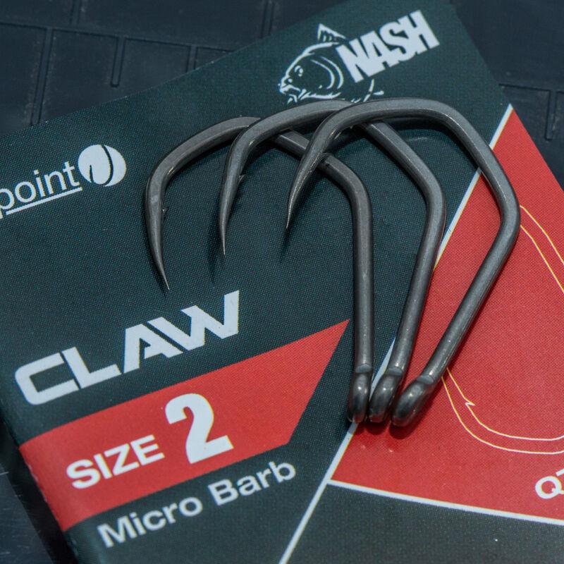 Hameçon carpe nash claw (x10) - Hameçons | Pacific Pêche