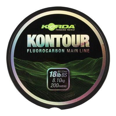 Fluorocarbone carpe korda kontour 200m - Fluorocarbon | Pacific Pêche