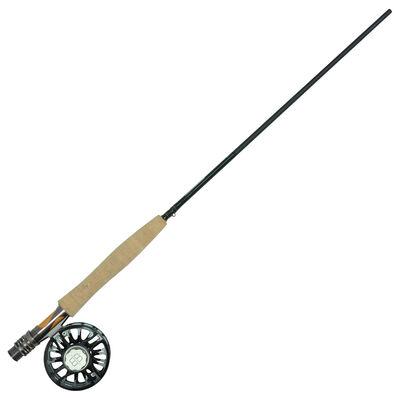 Ensemble mouche silverstone blackbone 10' soie 4-5 + moulinet blackbone 35la - Ensembles | Pacific Pêche