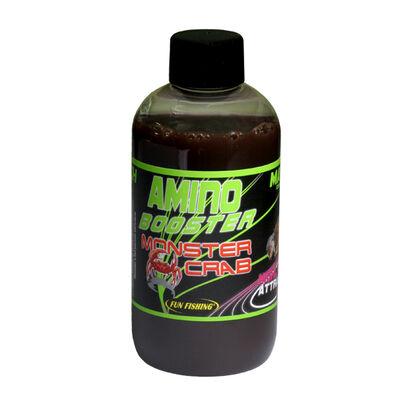 Additif liquide coup fun fishing amino booster monster crab 200ml - Additifs | Pacific Pêche