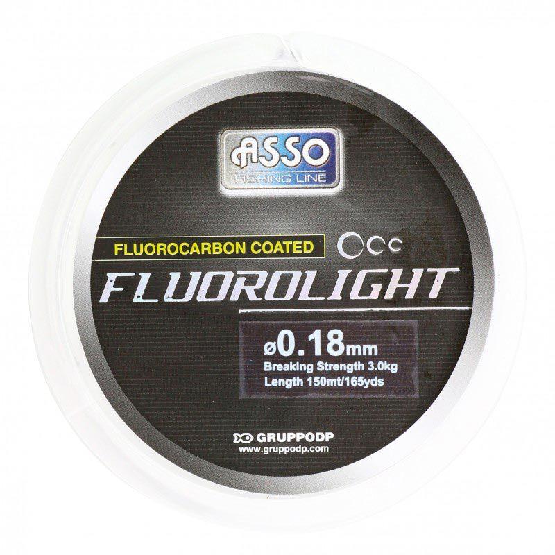 Nylon gainé asso fluorolight 150m - Nylons | Pacific Pêche