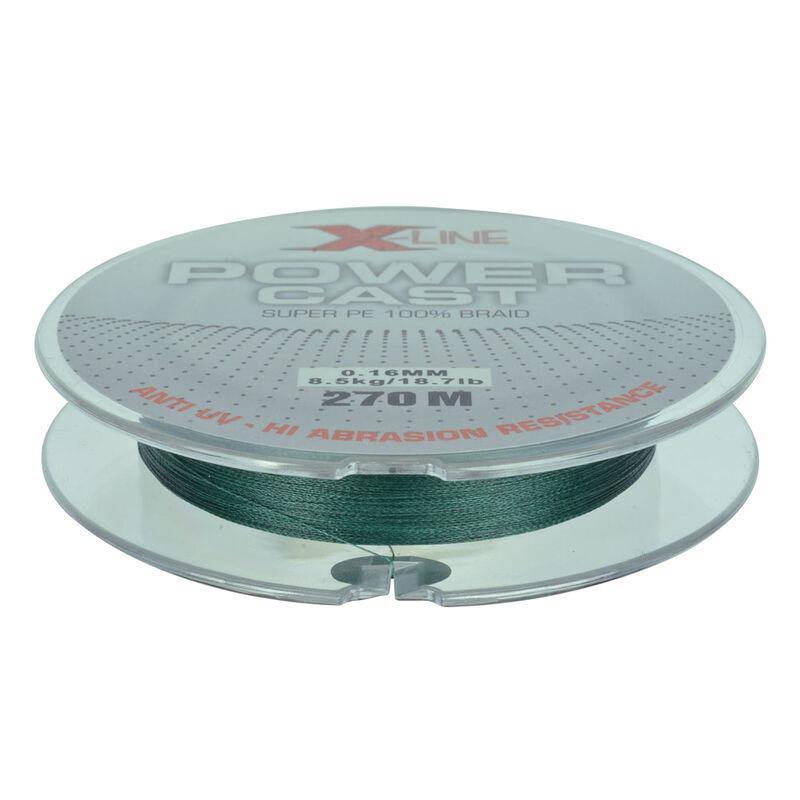 Tresse x-line power cast green 4 brins 270m - Tresses | Pacific Pêche