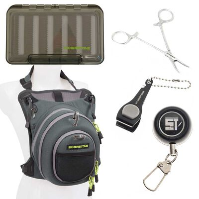 Pack bagagerie mouche silverstone chest pack + outils + boite à mouches - Packs | Pacific Pêche
