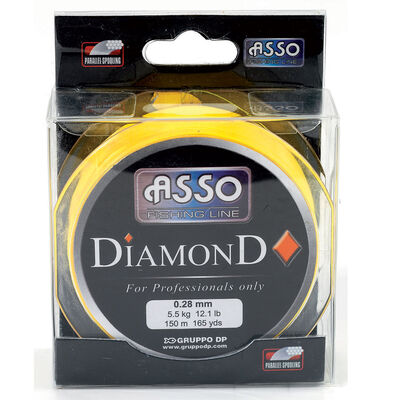 Nylon carnassier asso diamonds 150m - Nylons | Pacific Pêche