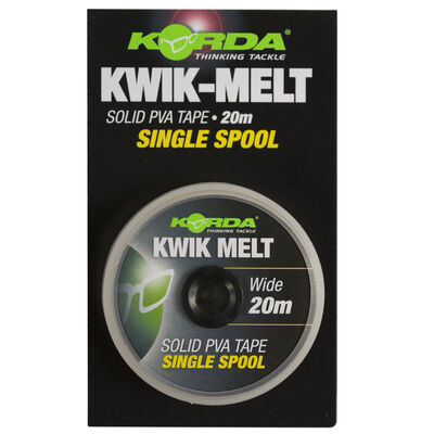 Ruban soluble carpe korda kwik melt 5mm pva (40m) - Fils | Pacific Pêche