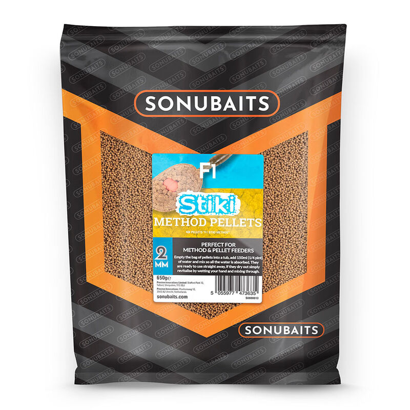 Method pellets sonubaits fin perfect stiki 650g - Amorçage | Pacific Pêche