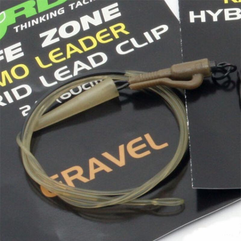 Leader carpe korda kamo hybrid lead clip 1m 40 lbs - Leaders | Pacific Pêche