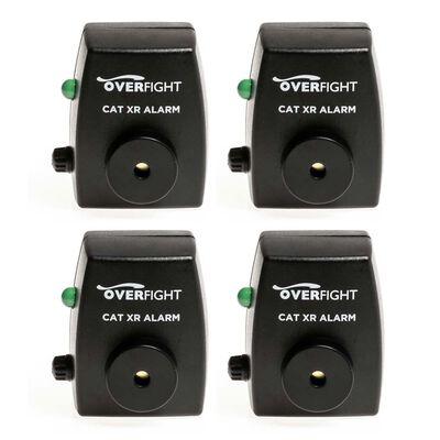 Pack de 4 détecteurs silure overfight cat xr alarm - Détecteurs | Pacific Pêche