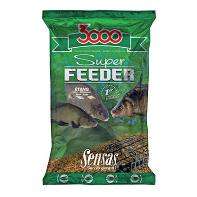 Amorce coup sensas 3000 super feeder etang 1kg - Amorces | Pacific Pêche