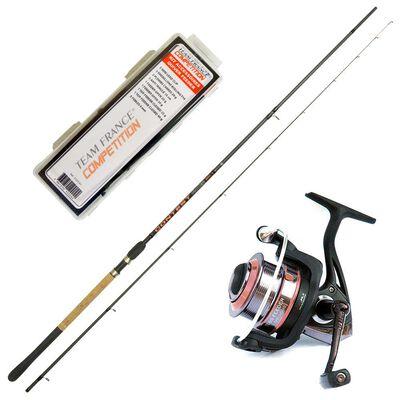 Pack pêche au feeder canne + moullinet + kit - Ensembles feeder | Pacific Pêche