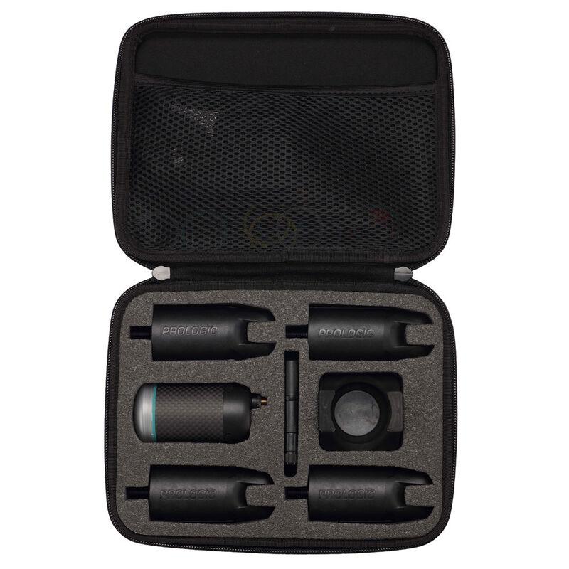 Coffret 4 détecteurs carpe prologic k3 bite alarm + centrale - Coffrets détecteurs | Pacific Pêche