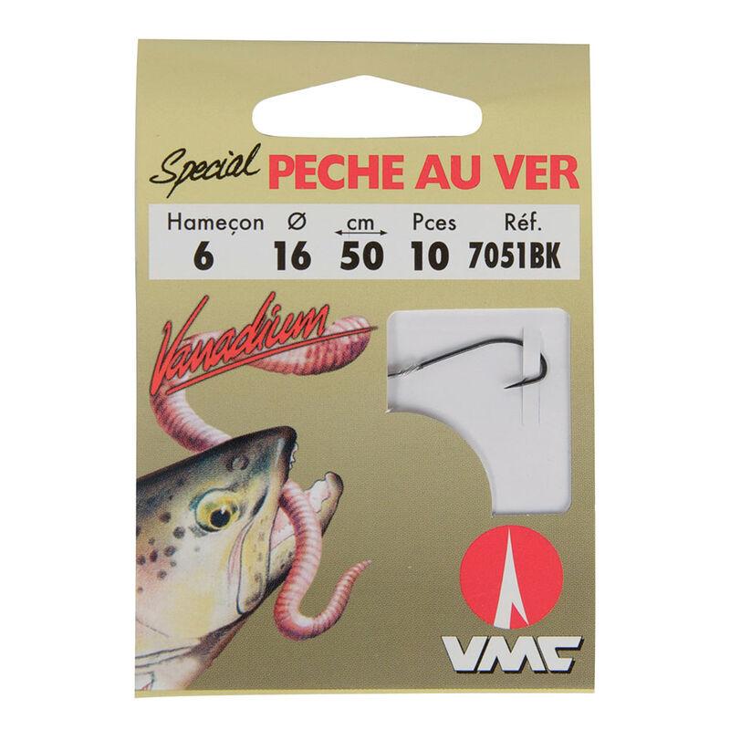 Hameçons montés truite waterqueen peche au ver 7051bk (x10) - Hameçons montés | Pacific Pêche