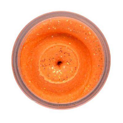 Pâte à truite berkley powerbait natural glitter trout bait aniseed orange - Pâtes à truite | Pacific Pêche