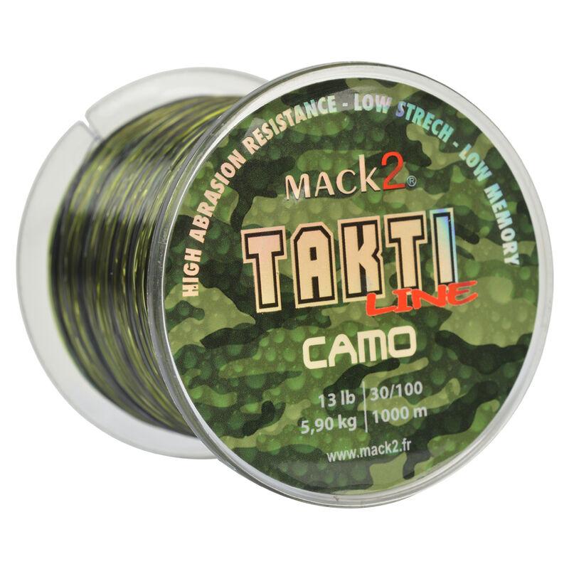 Nylon carpe mack2 takti line camo - Monofilament   Pacific Pêche