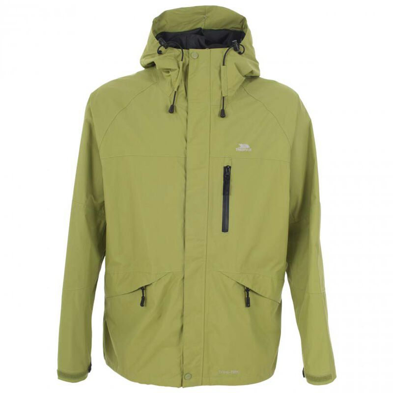 Veste impermeable homme trespass corvo jacket cedar green - Vestes/Gilets   Pacific Pêche