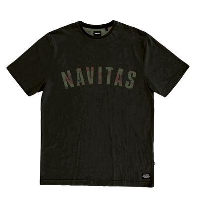 T-shirt navitas sloe tee green (noir) - Tee-shirts | Pacific Pêche