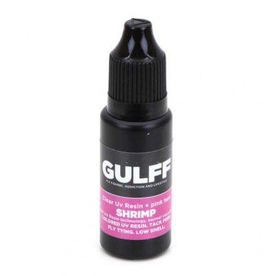 Résinu uv gulff shrimp 15 ml (rose vif) - Vernis | Pacific Pêche