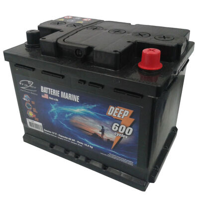 Batterie frazer marine 75ah 600 cycles - Batteries | Pacific Pêche