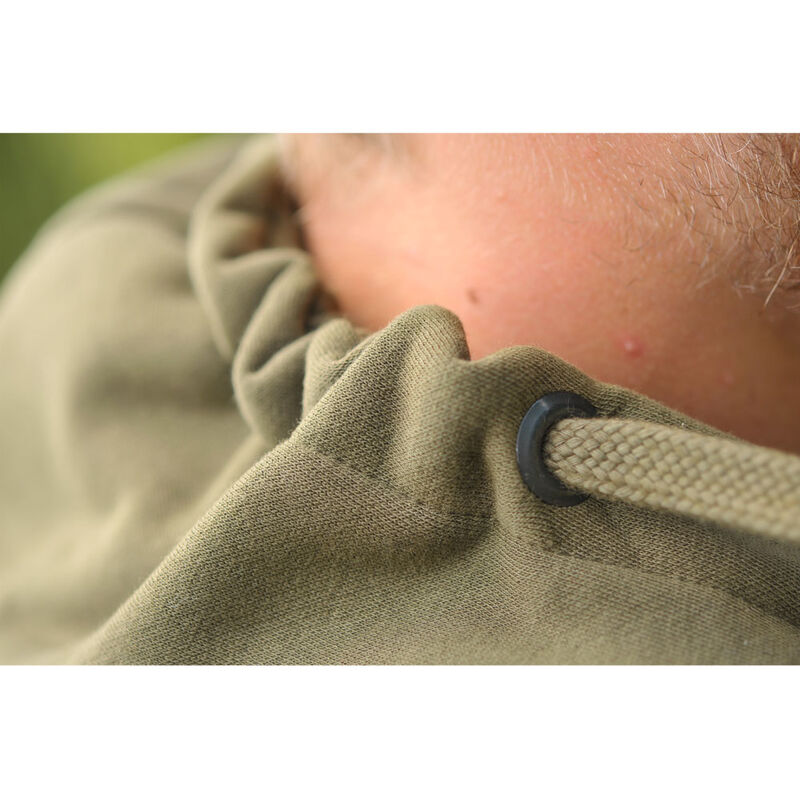 Sweat à capuche korda tk hoodie dark olive - Sweats | Pacific Pêche
