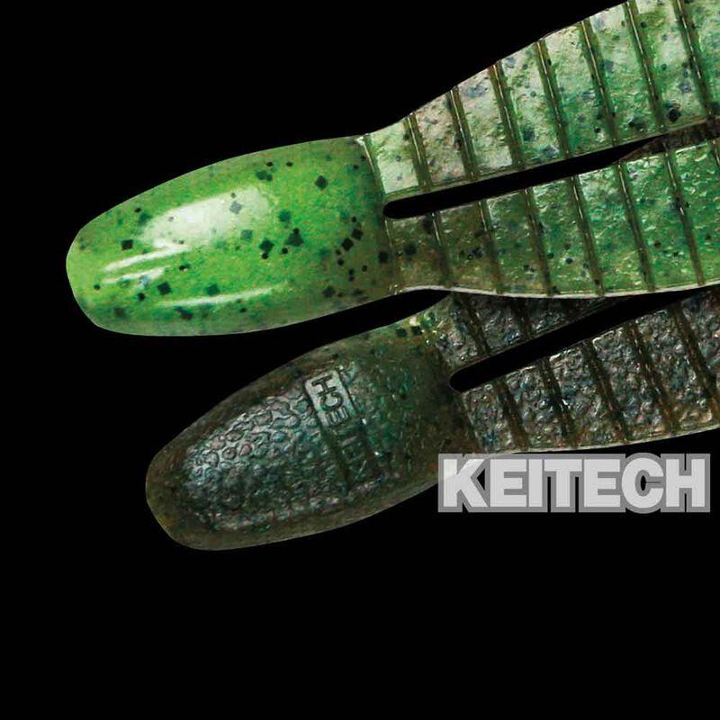 """Leurre souple créature carnassier keitech flex chunk 3"""" 7,6cm (x6) - Créatures   Pacific Pêche"""