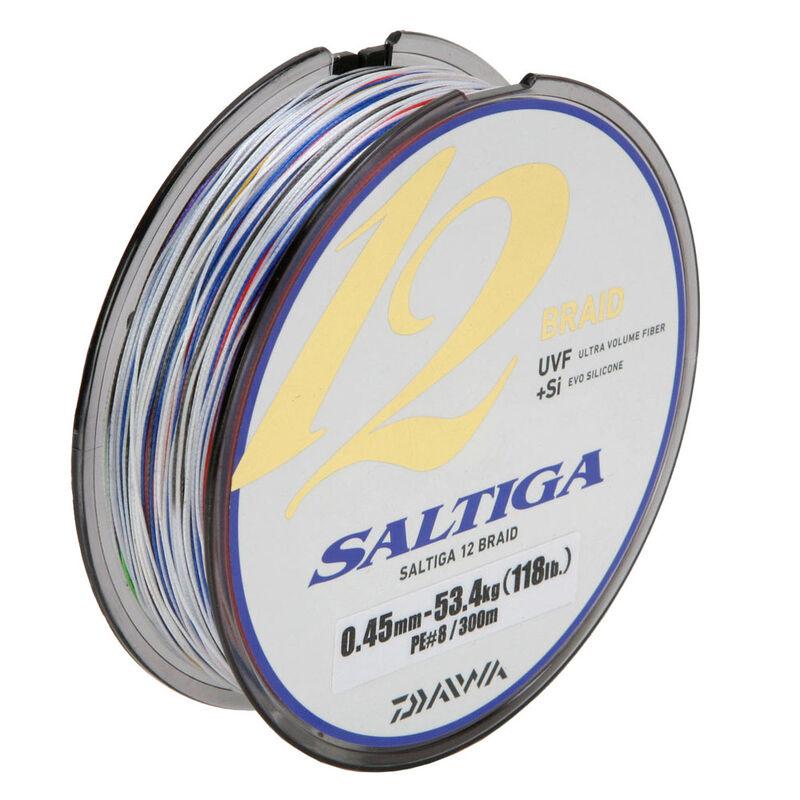 Tresse daiwa saltiga 12 brins ex 2.0 bobine de 600m - Tresses | Pacific Pêche