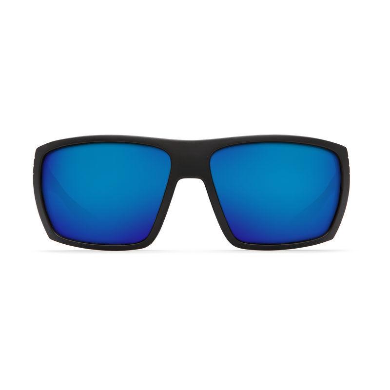 Lunettes polarisantes costa hamlin matte black (verres blue mirror 580 g) - Lunettes | Pacific Pêche