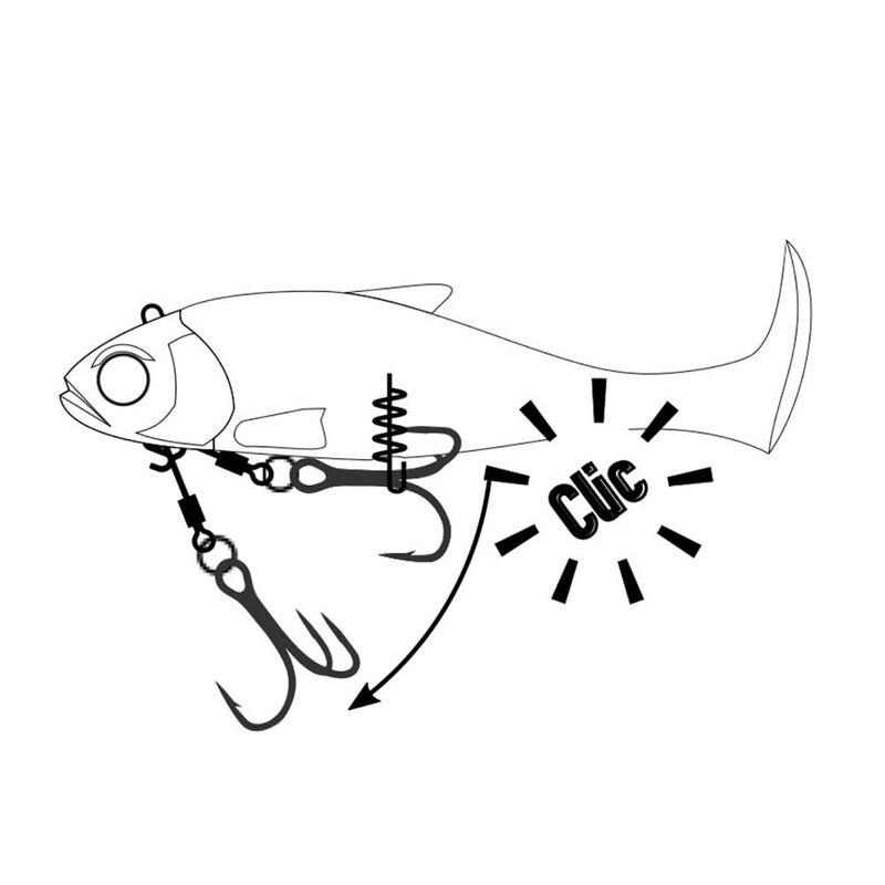 Leurre souple armé fiiish blaster shad 160 - Leurres shads | Pacific Pêche