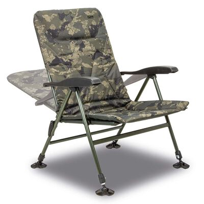 Level chair solar undercover camo recliner - Levels Chair | Pacific Pêche