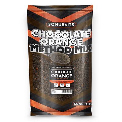 Amorce sonubaits chocolate orange method mix 2kg - Amorces | Pacific Pêche