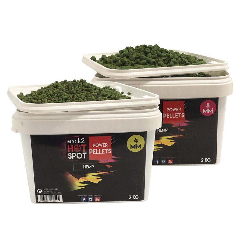 Seau pellets mack2 power pellets hemp 2kg - Amorçages   Pacific Pêche