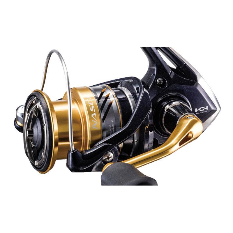 Moulinet shimano nasci 5000 xgfb - Tambour Fixe | Pacific Pêche