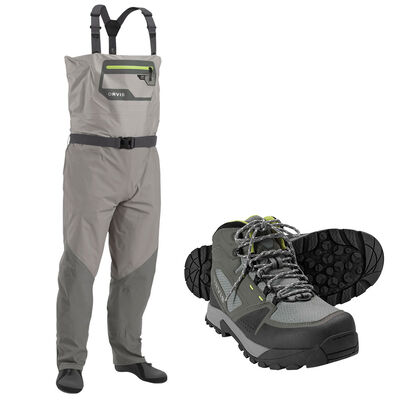 Pack orvis men's ultralight wader convertible + boots vibram - Packs | Pacific Pêche
