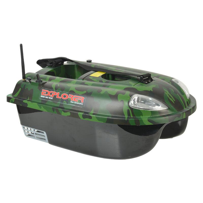Bateau amorceur carpe quad explorer camo 5.8 ghz - Bateaux Amorceurs | Pacific Pêche