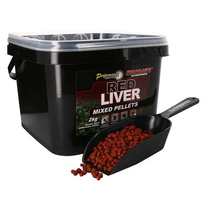 Pellets starbaits pc red liver pellets mixed 2kg - Amorçages | Pacific Pêche